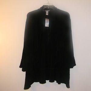 Catherine's Black Cascade  Size 5X (34/36W)